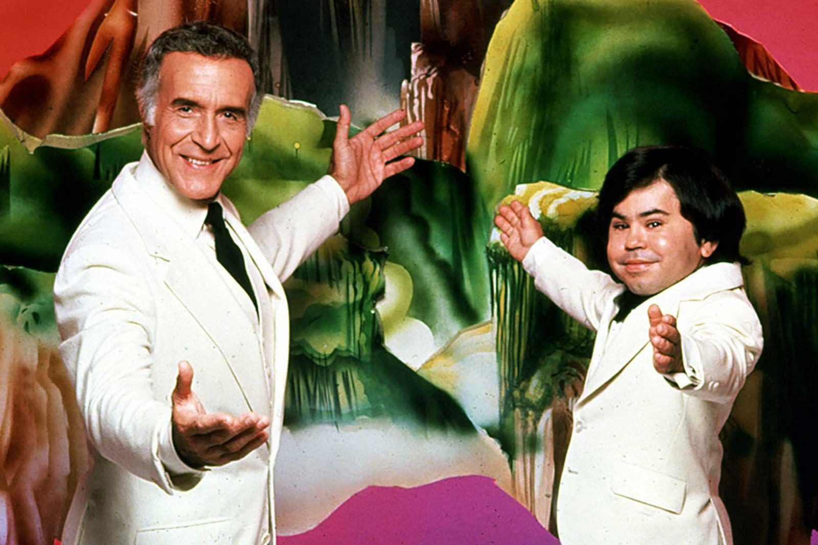 Ricardo Montalban and Hervé Villechaize in the original Fantasy Island series