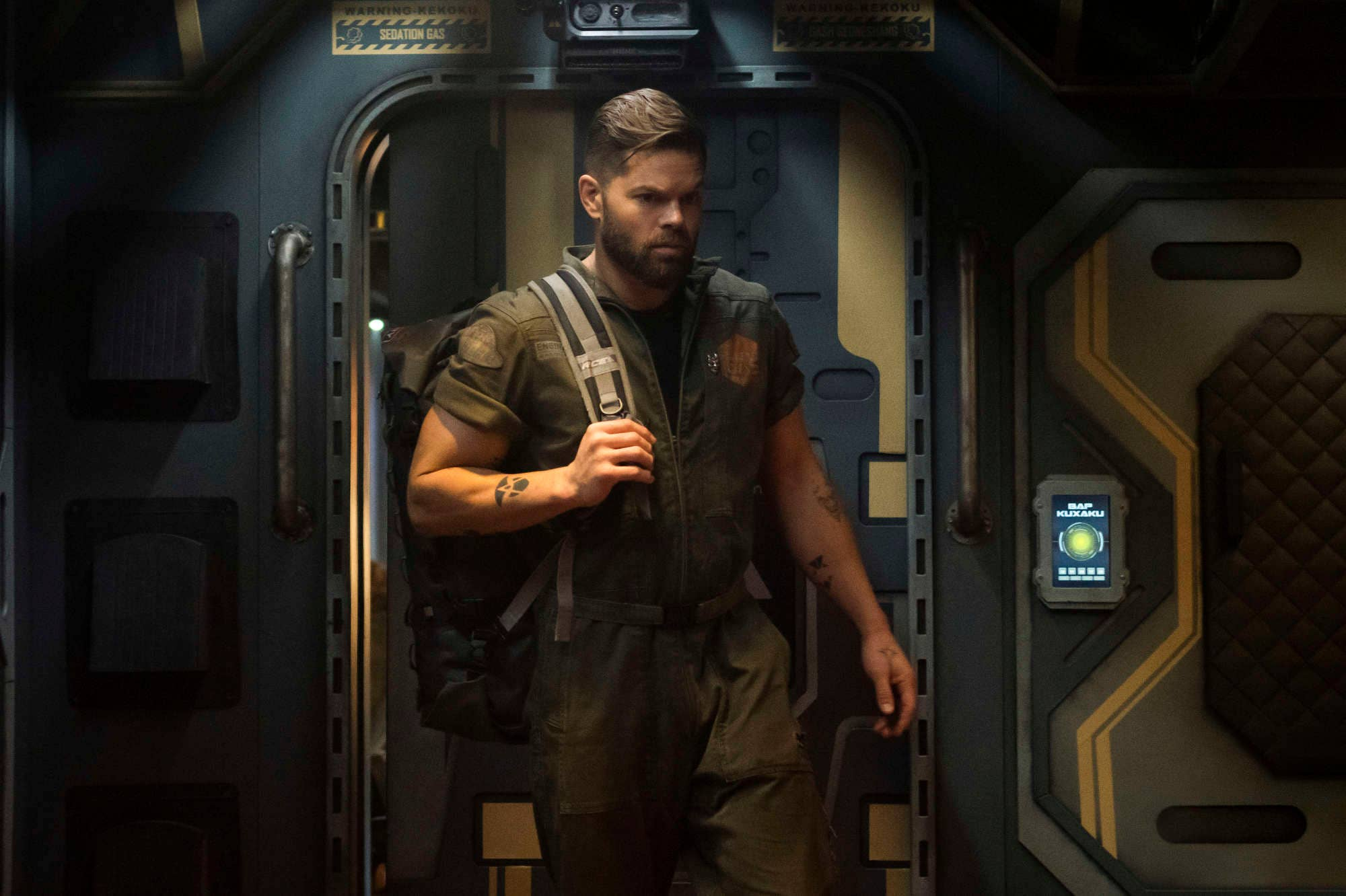 Wes Chatam as Amos in The Expanse season 5