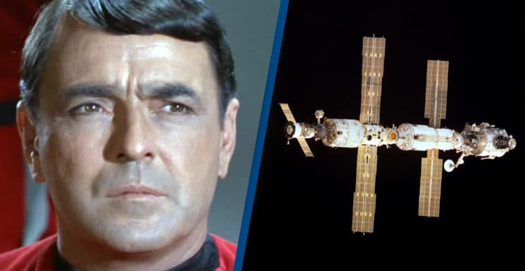 The ashes of Star Trek's Scotty are onboard the International Space Station 13