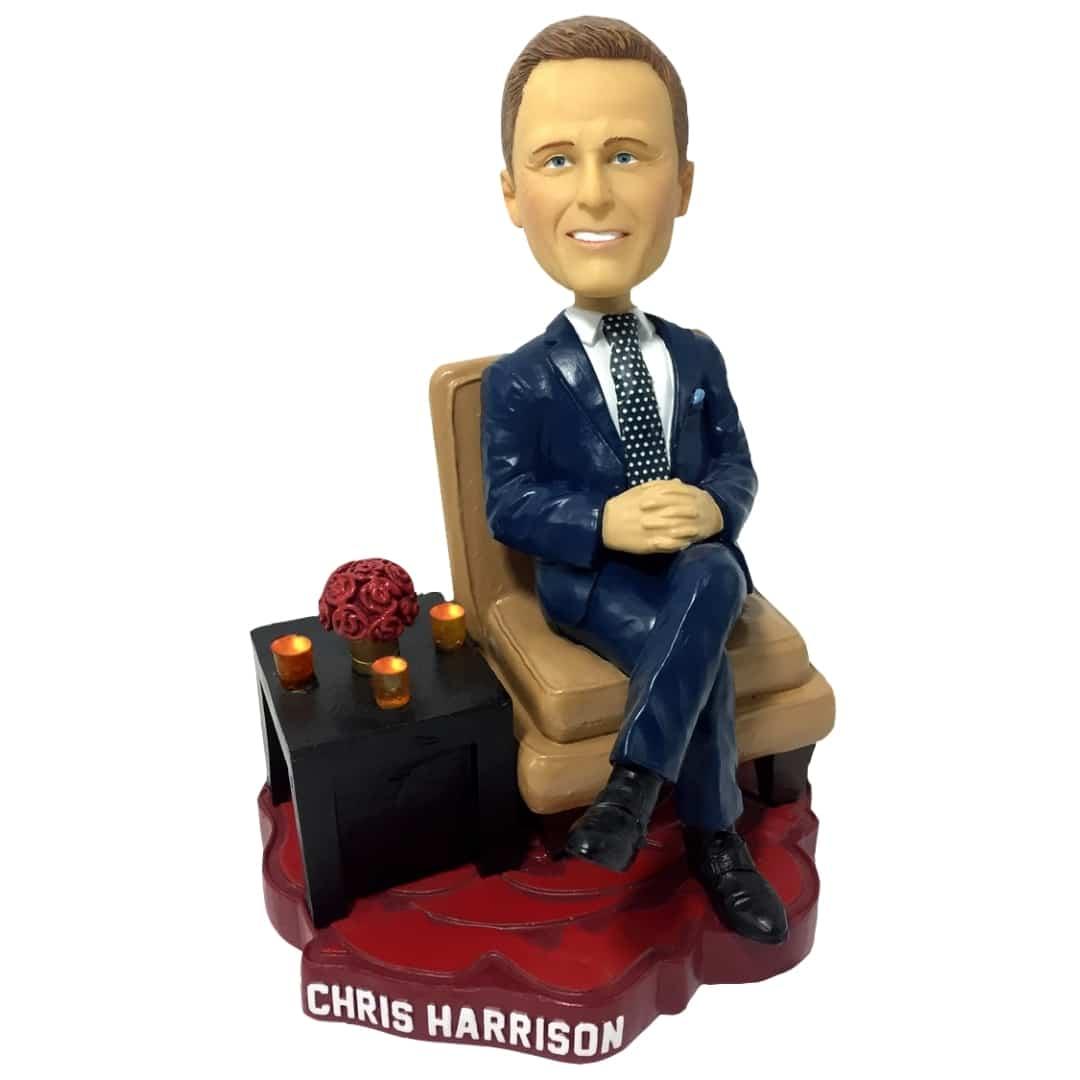 The Bachelor host Chris Harrison Bobblehead - Lighted Candles
