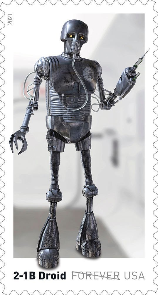 Here's our first look at droids-inspired Star Wars stamps coming this spring 17