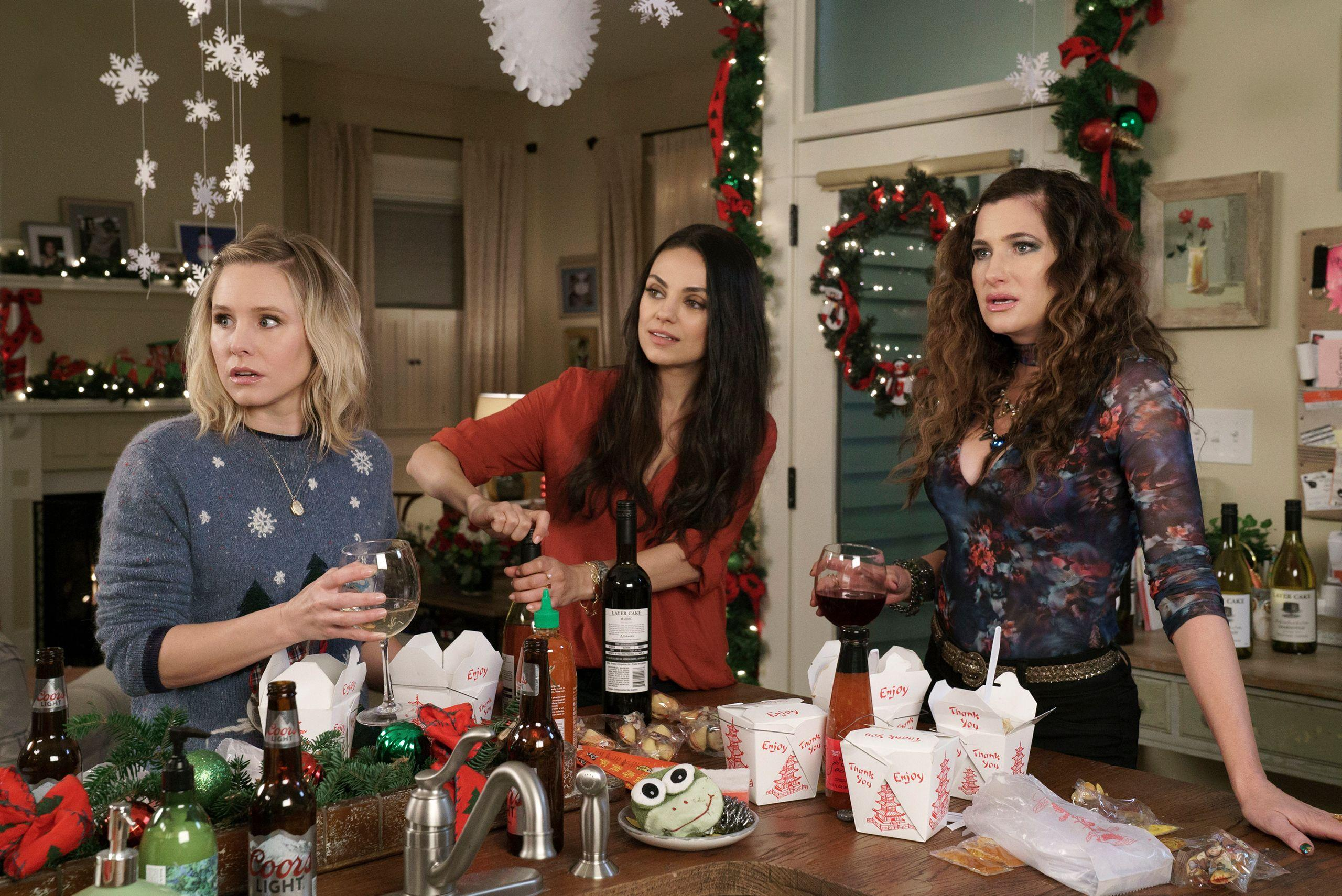 Netflix films with strong female leads: A Bad Moms Christmas