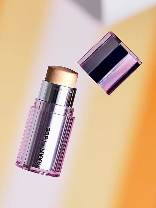 Light Lock Intense Shimmer Stick by Halsey's About-Face