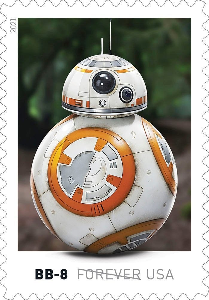 Here's our first look at droids-inspired Star Wars stamps coming this spring 14