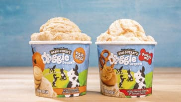 Ben & Jerry's Doggie Desserts are ice cream treats especially made for dogs 13