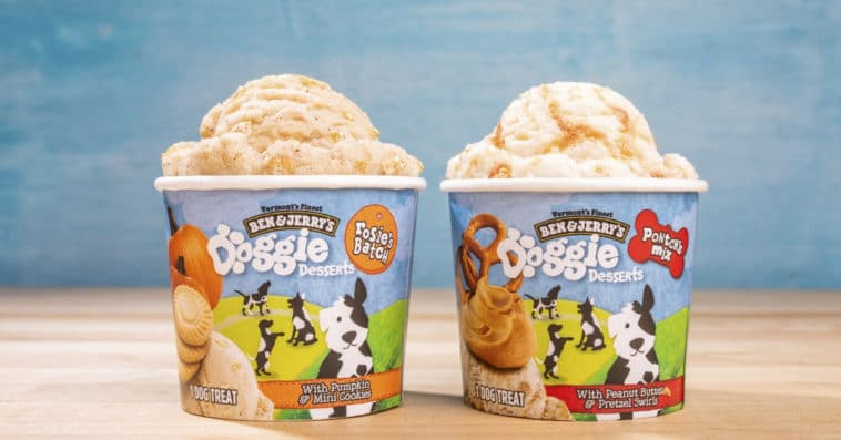 Ben & Jerry's Doggie Desserts are ice cream treats especially made for dogs 19