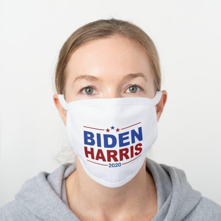 Joe Biden and Kamala Harris face mask
