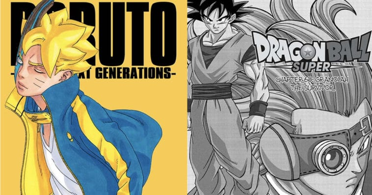 Boruto: Naruto Next Generations and Dragon Ball Super