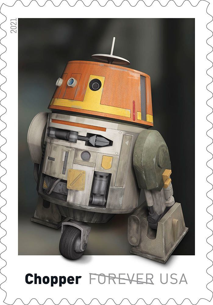 Here's our first look at droids-inspired Star Wars stamps coming this spring 18