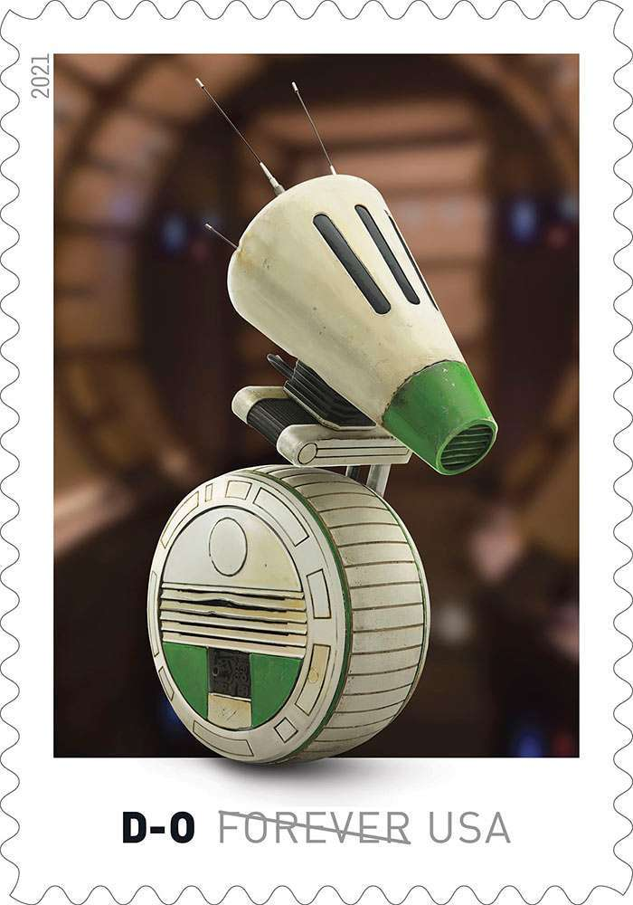 Here's our first look at droids-inspired Star Wars stamps coming this spring 12