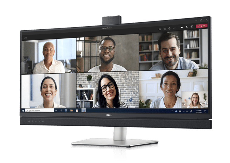 Dell 34 video conferencing monitor