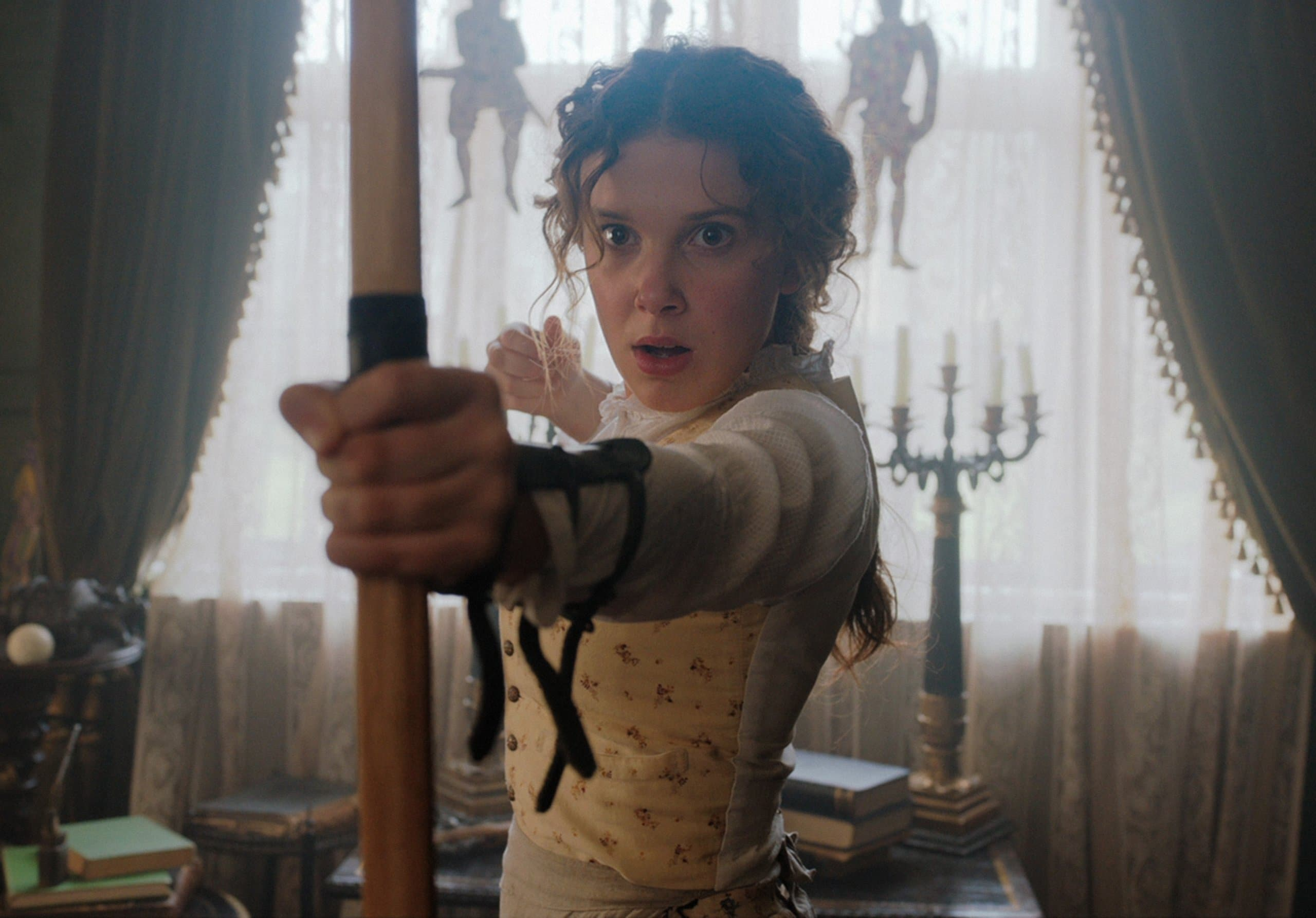 Netflix films with strong female leads: Enola Holmes