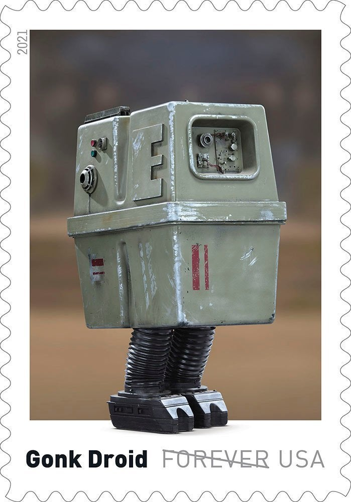 Here's our first look at droids-inspired Star Wars stamps coming this spring 16