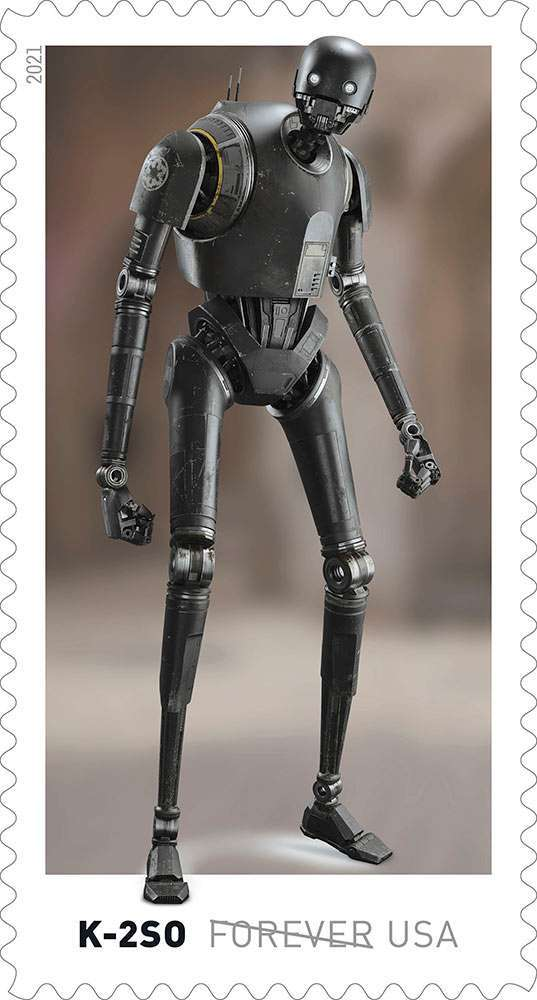 Here's our first look at droids-inspired Star Wars stamps coming this spring 11