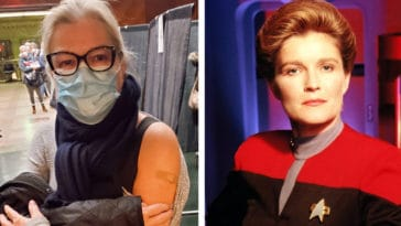 Star Trek: Prodigy's Kate Mulgrew and Star Trek: Voyager's Captain Kathryn Janeway