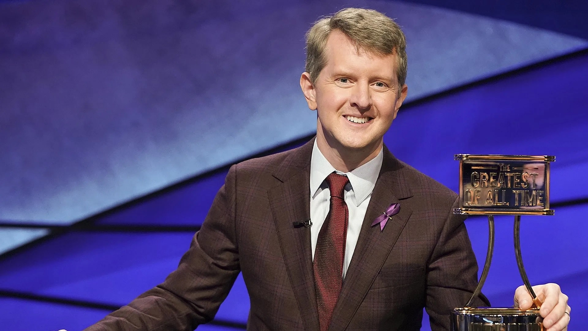 Ken Jennings is the first confirmed Jeopardy! interim host. Katie Couric will reportedly helm the game show after Jennings' stint.