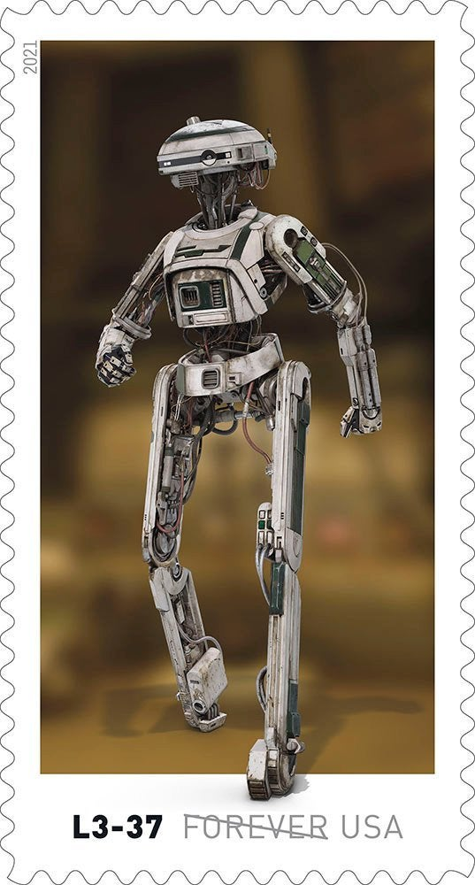 Here's our first look at droids-inspired Star Wars stamps coming this spring 13