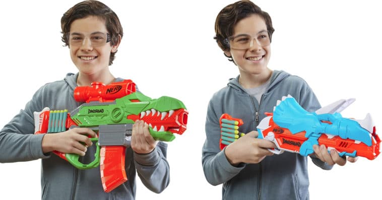 Nerf DinoSquad blasters feature awesome dinosaur designs 20