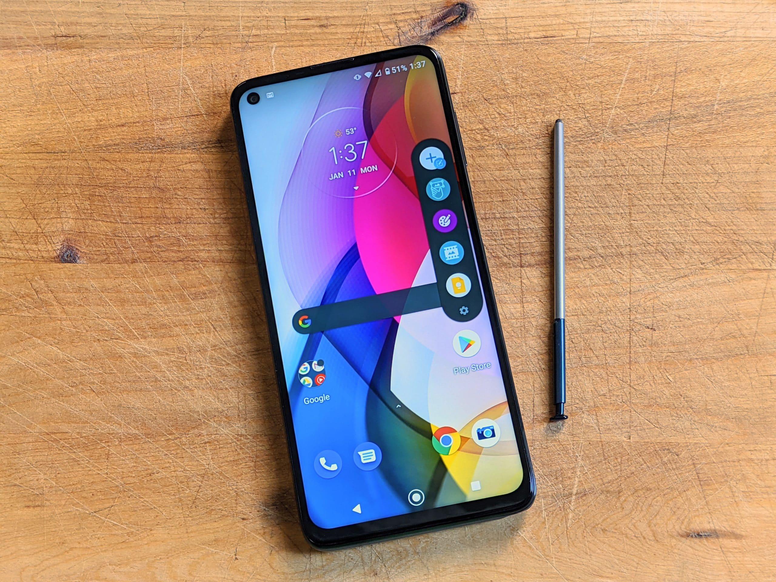 Motorola Moto G Stylus review 2021