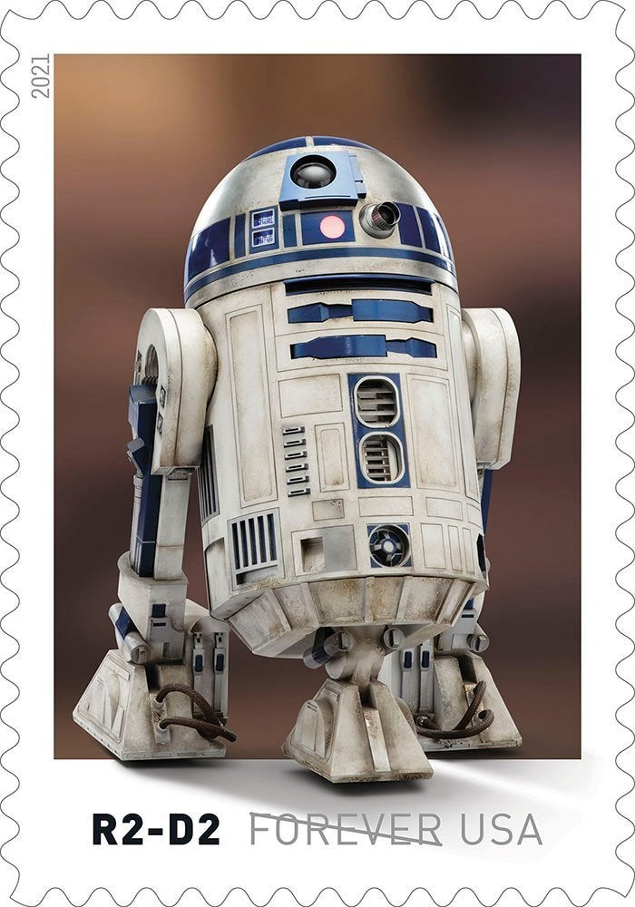 Here's our first look at droids-inspired Star Wars stamps coming this spring 10