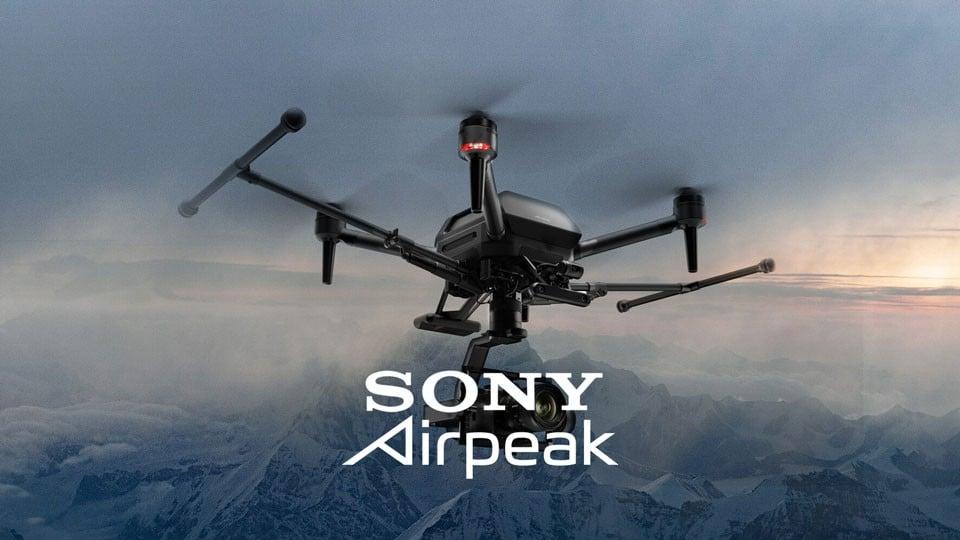Sony's Airpeak drone