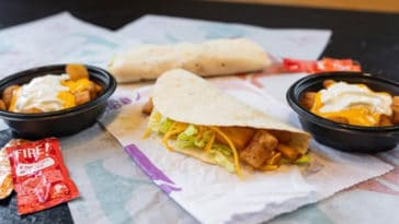 Taco Bell is bringing back Spicy Potato Soft Taco and Cheesy Fiesta Potatoes