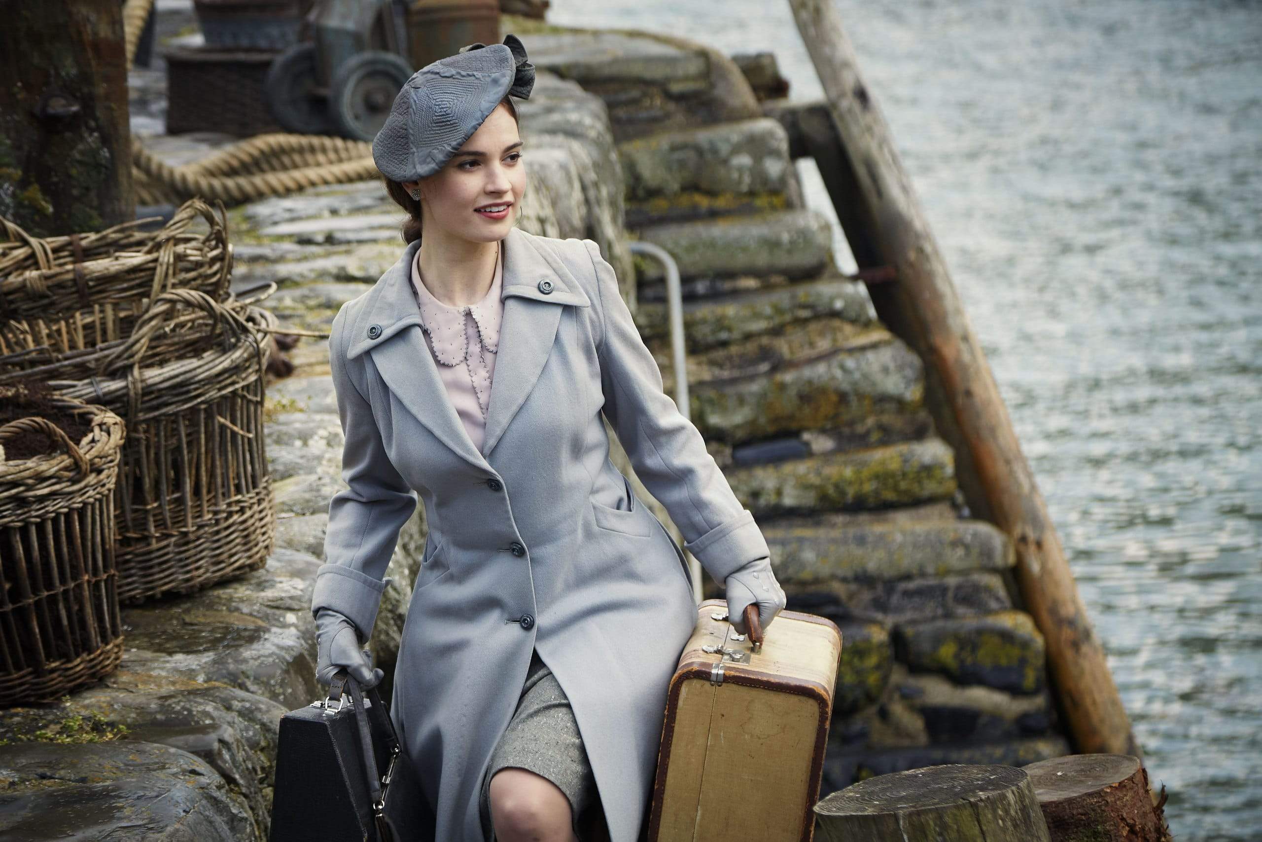 Netflix films with strong female leads: The Guernsey Literary and Potato Peel Pie Society