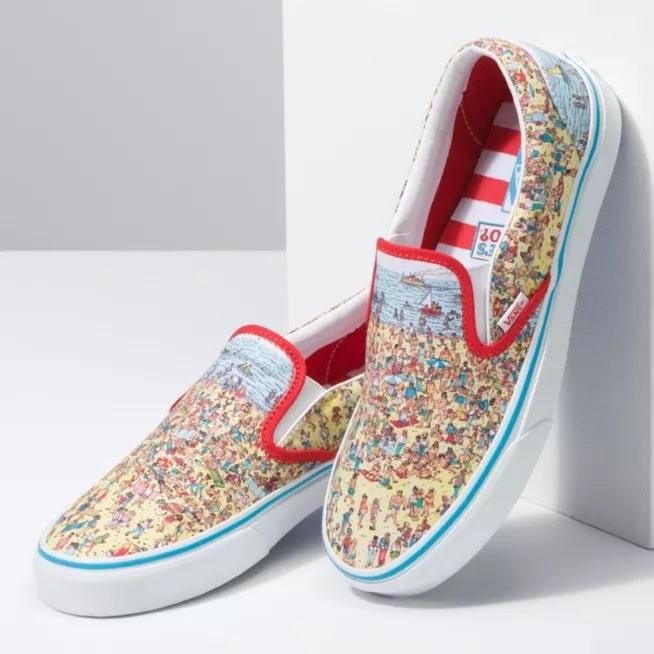 Vans x Where's Waldo Classic Slip-On