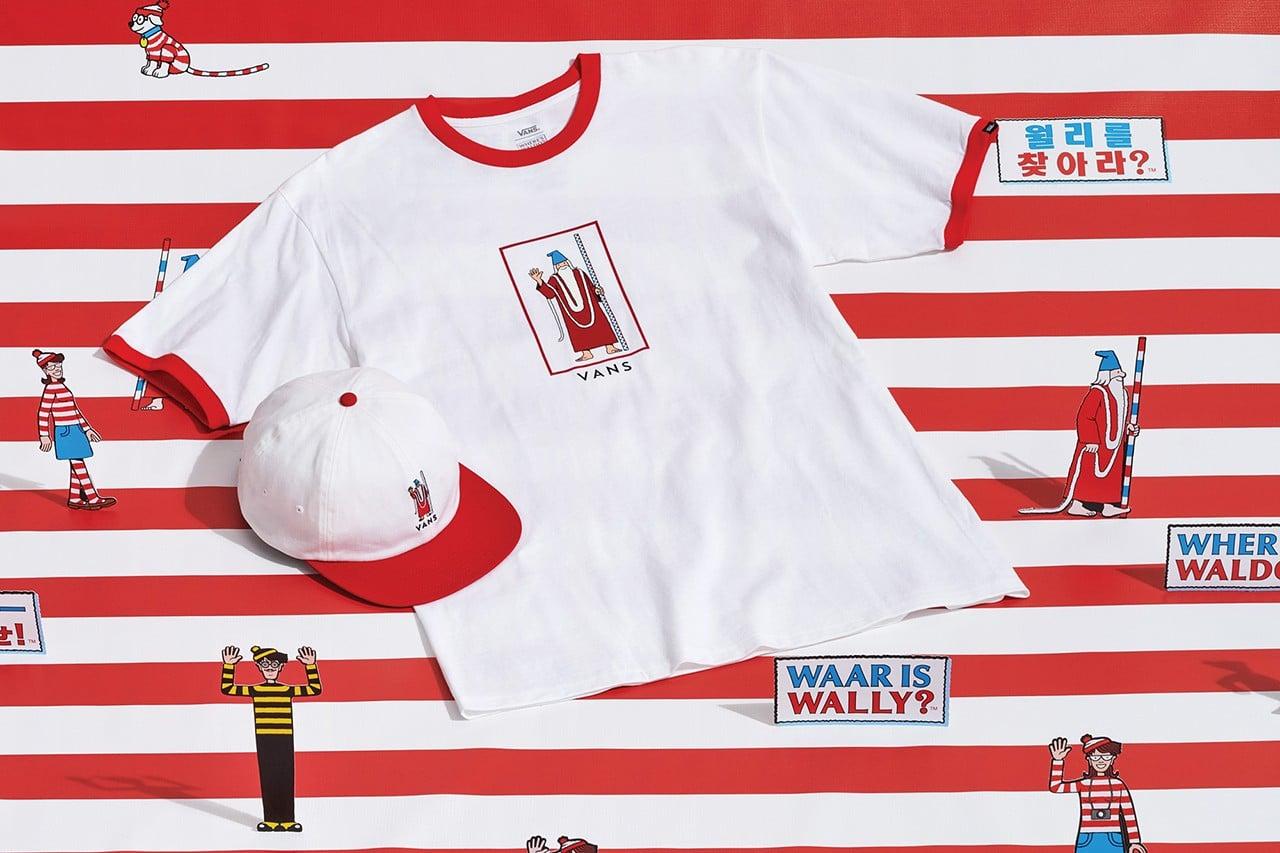 Vans x Where's Waldo? apparel