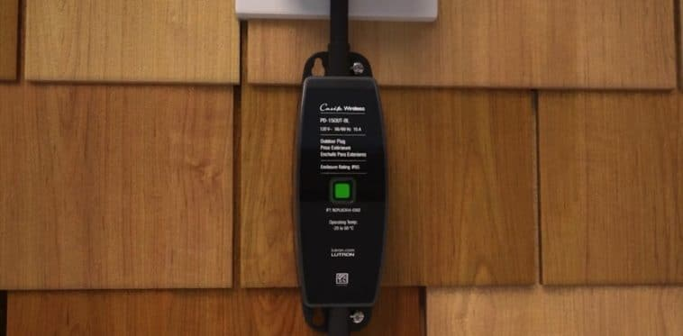 Lutron's Outdoor Smart Plug is both Alexa and Google Assistant friendly 12