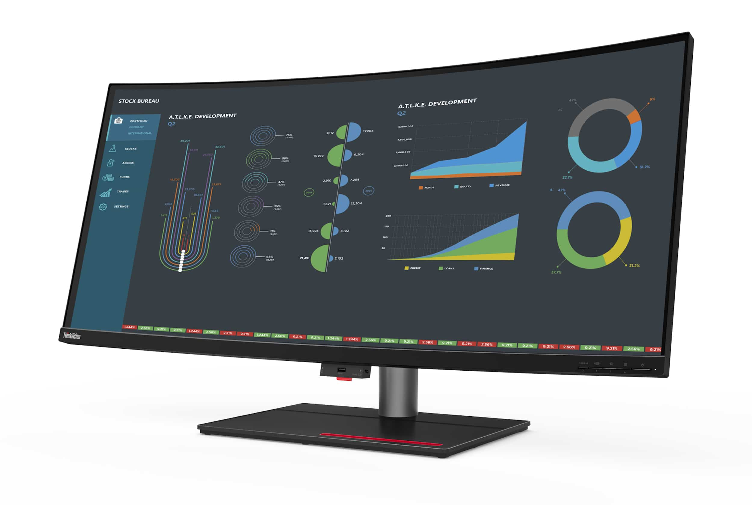 ThinkVision P40w monitor