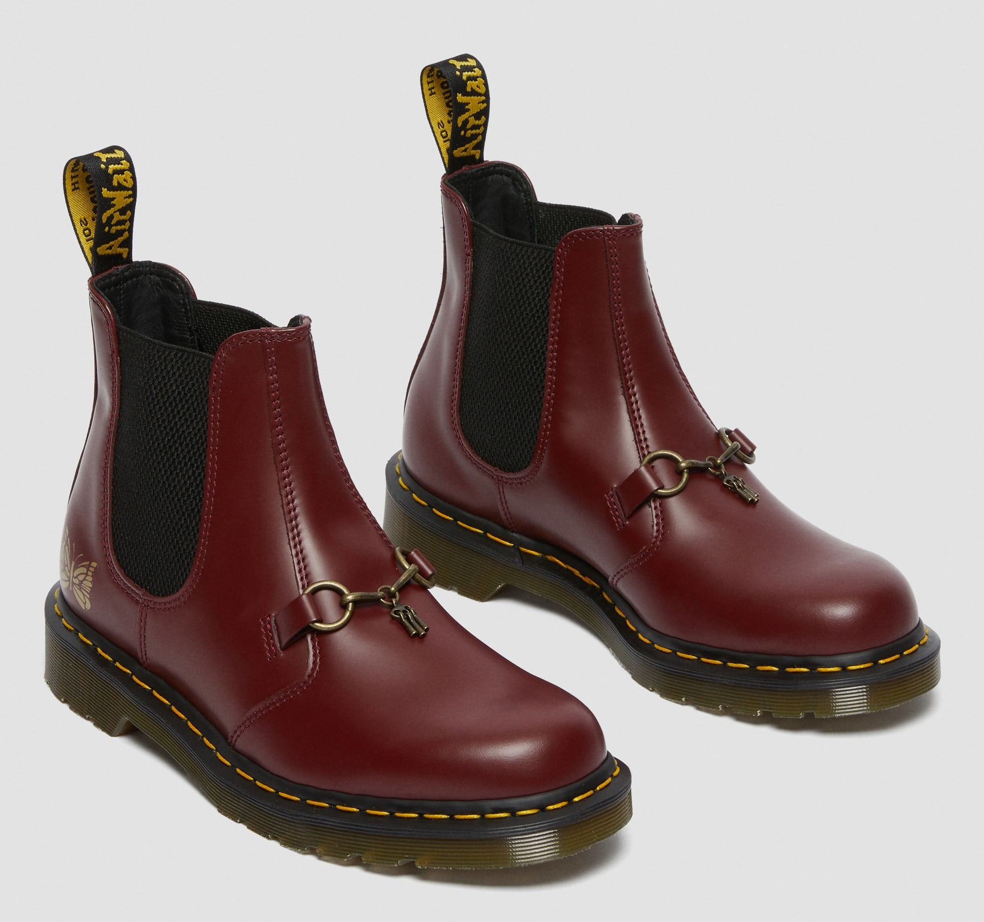 Dr. Martens Chelsea Boot gets an old-school Americana revamp from Needles 15