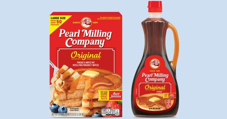Aunt Jemima unveils new name and logo after decades of controversy 13