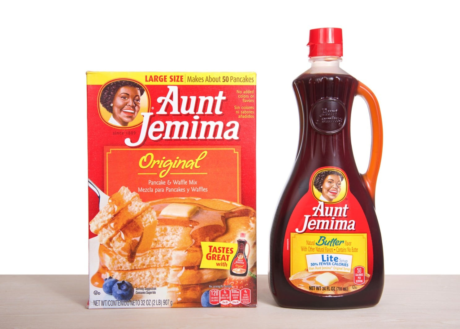 Aunt Jemima unveils new name and logo after decades of controversy 10