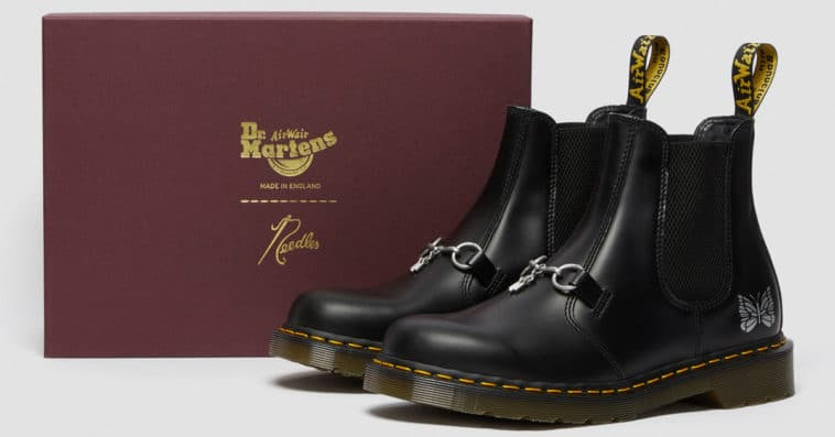 Dr. Martens Chelsea Boot gets an old-school Americana revamp from Needles 13