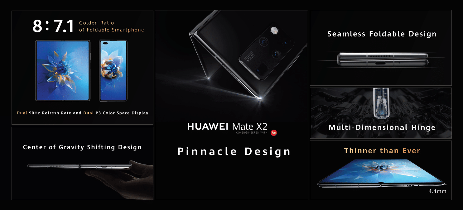 The Huawei Mate X2 sports a new folding design alongside Leica cameras 10