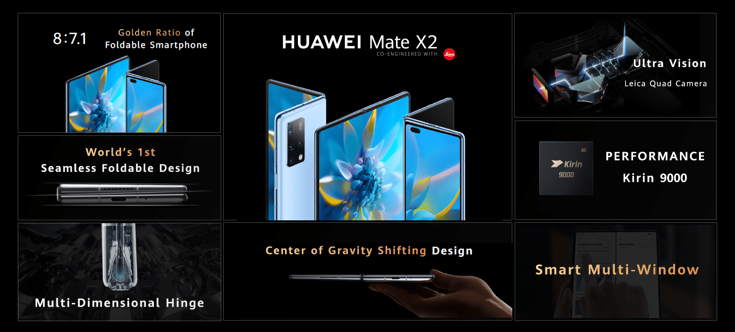 The Huawei Mate X2 sports a new folding design alongside Leica cameras 9