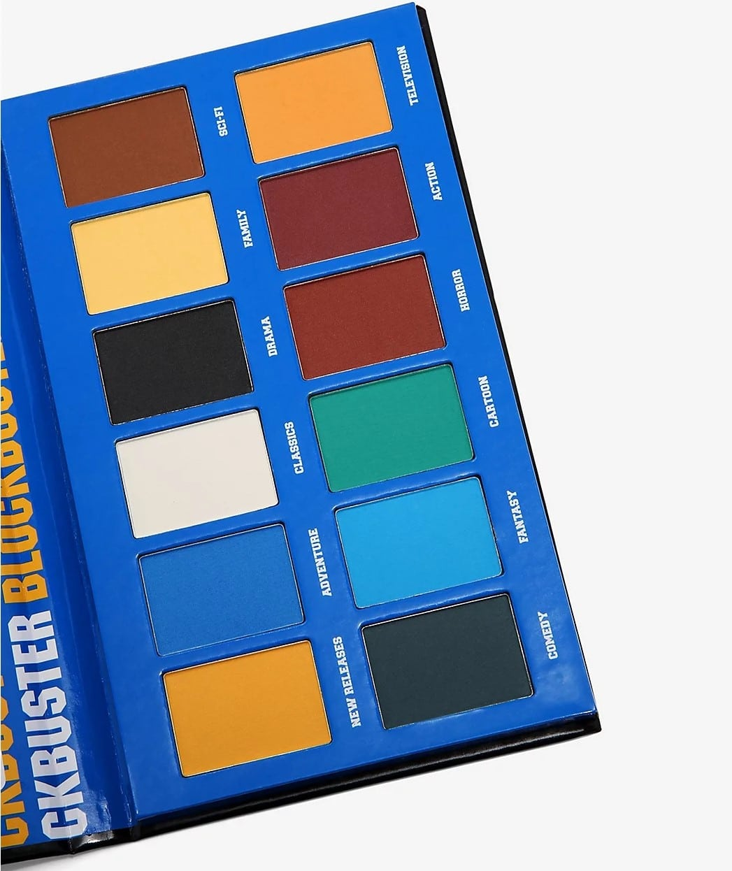 Blockbuster Eyeshadow Palette has 12 shades inspired by movie genres 14