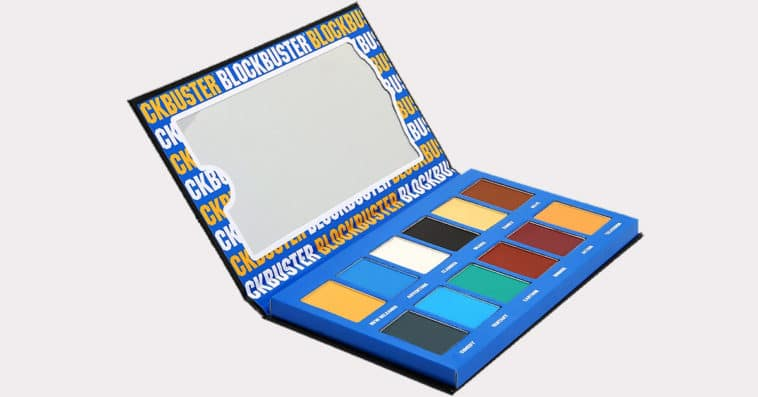 Blockbuster Eyeshadow Palette has 12 shades inspired by movie genres 13
