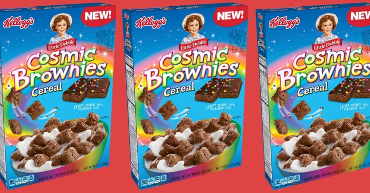 Little Debbie Cosmic Brownies get a cereal version from Kellogg's 9