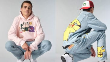 Levi's celebrates Pokémon's 25th anniversary with a '90s-style collection 14