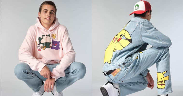Levi's celebrates Pokémon's 25th anniversary with a '90s-style collection 9