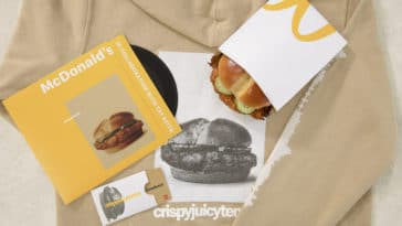 McDonald's hypes up its new chicken sandwich with a limited-edition $5 hoodie 14