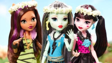 Monster High is getting an animated series and a live-action musical movie 3