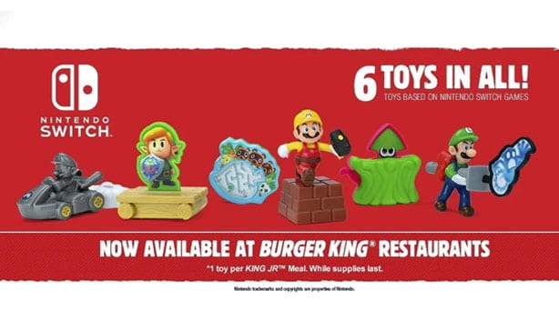 Nintendo toys now available at Burger King 13