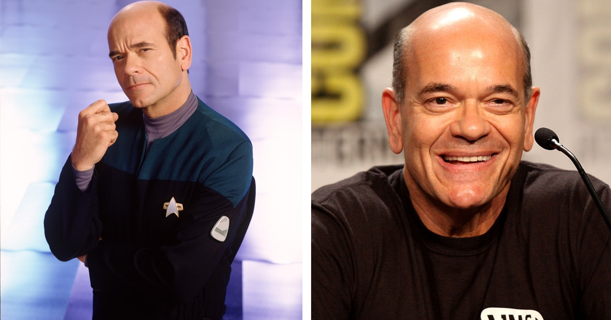 Star Trek actors Then and Now 16