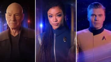 Star Trek Universe characters unite in a Super Bowl ad for Paramount Plus 15