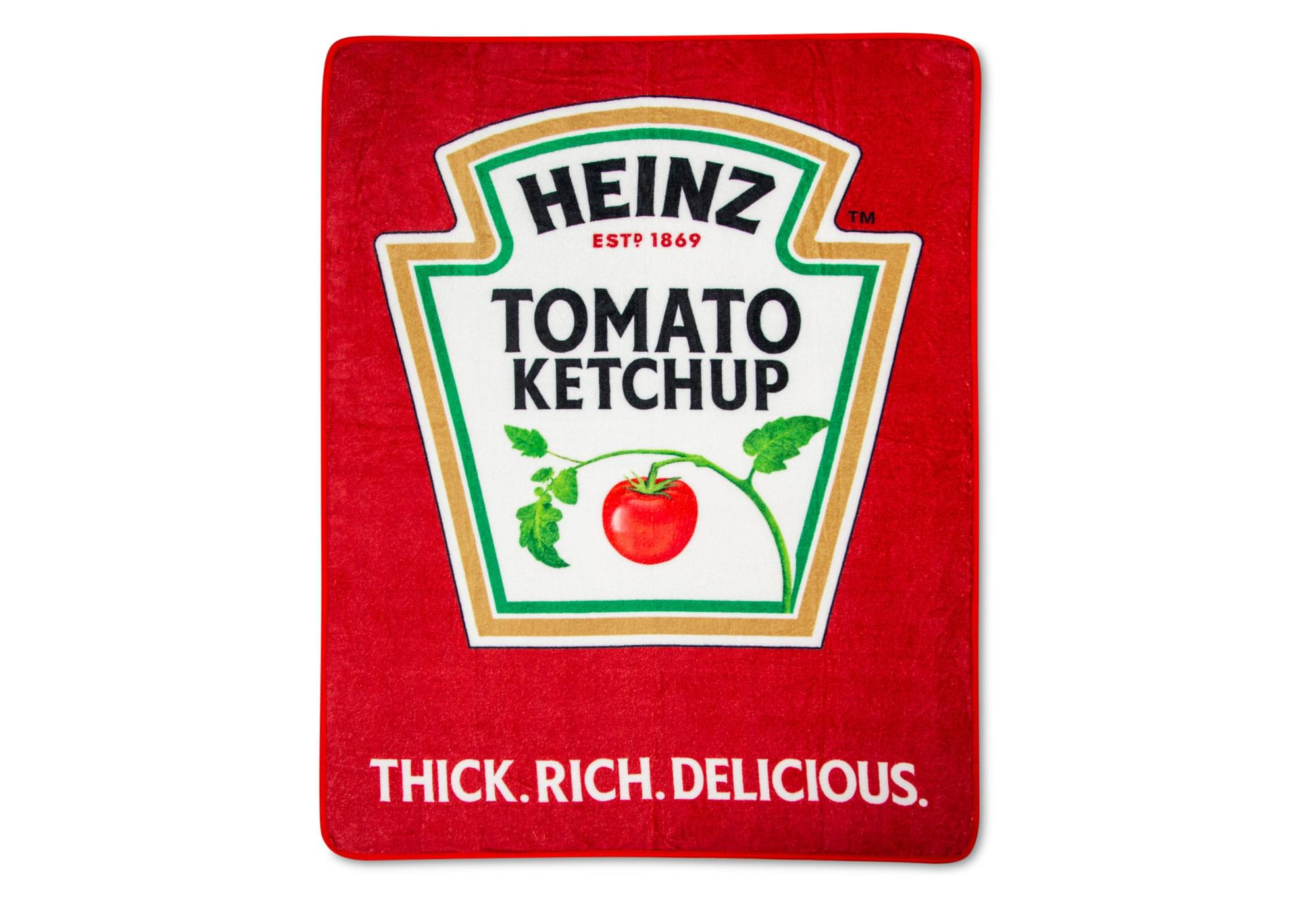 Fight the Arctic blast with this Heinz Ketchup blanket 14