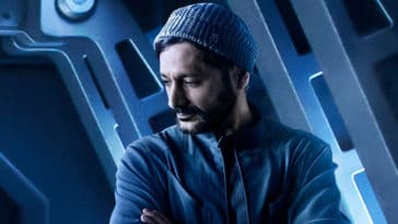 The Expanse season 5 Cas Anvar as Alex Kamal