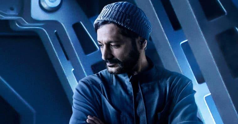 The Expanse season 5 Cas Anvar as Alex Kamal